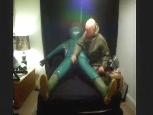 Green Trellchem Hazmat Suit Fun Part 1