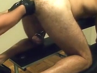 Sir fisting my hole and then plugging me with XXXL butt plug