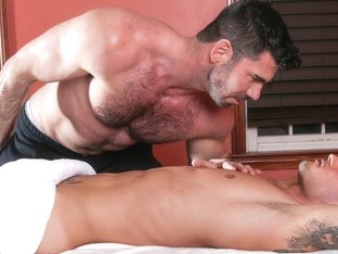 Billy Santoro & Vadim Black in Gay Massage House 4, Scene 01 - IconMale