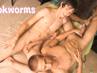 Matthew Keading & Jacques Le Coque in The Bookworms XXX Video