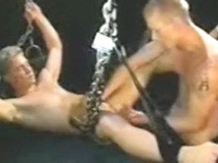 Crazy male in horny bdsm homo xxx video
