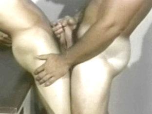 Incredible male pornstar in horny uniform, vintage gay xxx video
