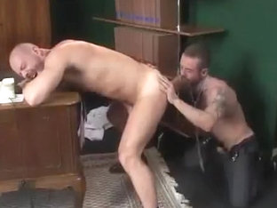 Horny male in fabulous blowjob, bears homo porn scene