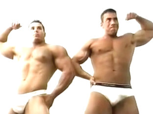 Hottest male in best hunks gay porn clip