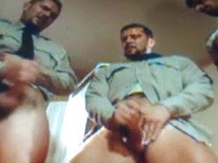 Exotic male in fabulous uniform, big dick homo sex clip
