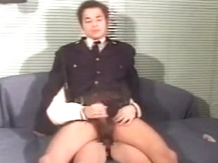 Best male in horny uniform homo xxx movie