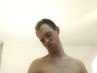 Cool stud drills his lover's fuck hole with his finger