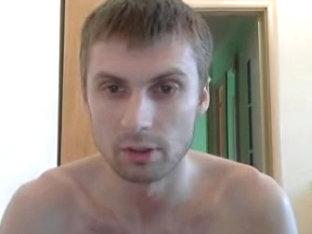 Cute gay on webcam sex show