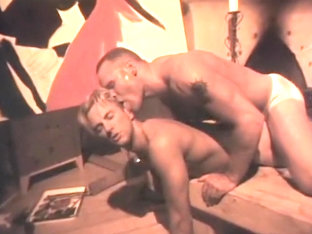 Hottest homemade gay scene with Threesomes, Doggystyle scenes