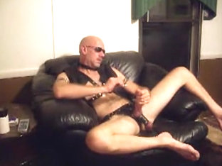 Leather chair stroke