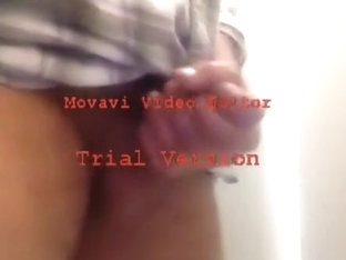 ANOTHER PEE, CUM AND JERK OFF VIDEO AT THE OFFICE RESTROOM