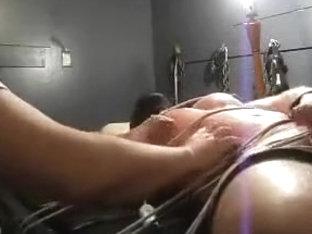 Bondage and tickling video