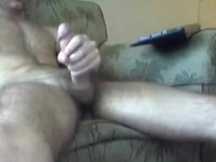 Hot Hunk Jerking Off