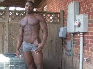Beautiful black hunk