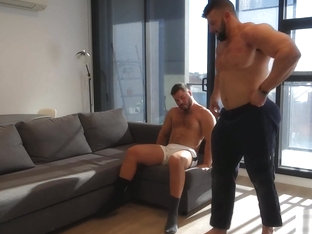 MUSCLE BOY GOES WYLD FOR STRIPPER ASS