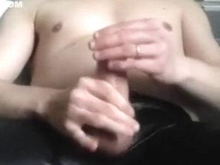 spandex and condom with cum