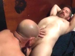 Tj sucking his favorite cock at the baths part1
