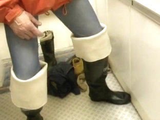 nlboots - westgate waders long johns piss