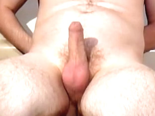 Pee on myself with hardon and nearly cum