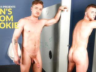 Lucas Knight & Chris Noxx in Men's Room Rookie XXX Video