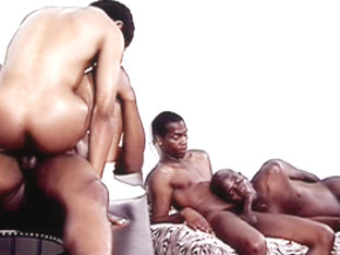 Hot Boi and Mello and Pleasure in La gangbangaz scene 3