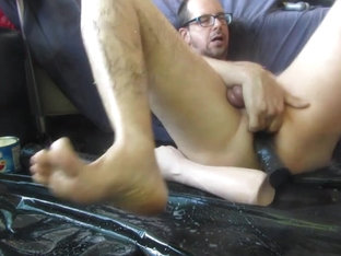 Super Wide ass  hot cum