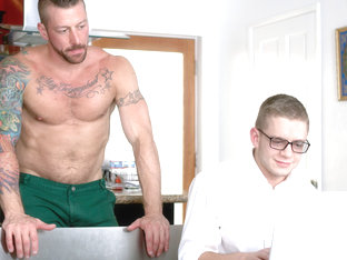 Ian Levine & Hugh Hunter in Hard Drive Daddy Video