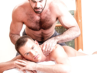 Billy Santoro & Brandon Wilde in Gay Massage House 2 Video