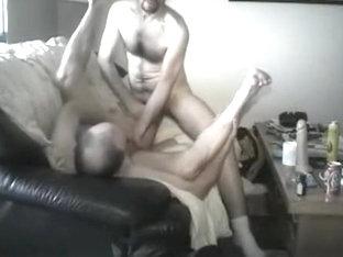 Crazy male in exotic fetish, bareback gay porn clip