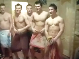 Hot Guys Celebrating