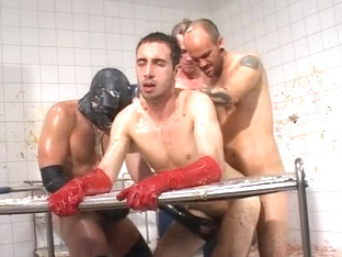 Hottest amateur gay movie with Fetish, Compilation scenes