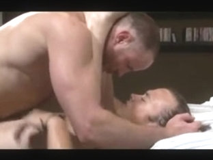 HAIRY dad FUCK hard RAW bare YOUNG ass spit SLAP creampy ASS