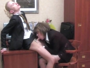Office girlsies anal sex
