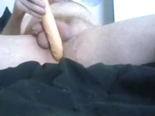 some anal play and jerking off to