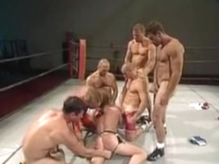 hot guys muscle wrestling