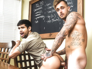 Brian Michaels & Ty Mitchell in Pass The Bottom Part 1 - MenNetwork