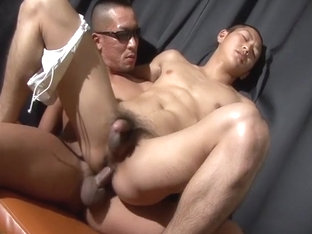 Fabulous Asian homosexual twinks in Best dildos/toys, masturbation JAV scene
