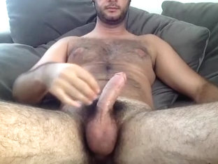 Fascinating boy is jerking in the bedroom and memorializing himself on webcam