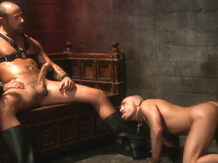 Cock Worship in Boundgods Video