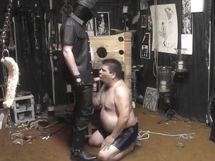 Chubby Cocksucker Lycan Is Desperate For A Hot Jizz Mouthful