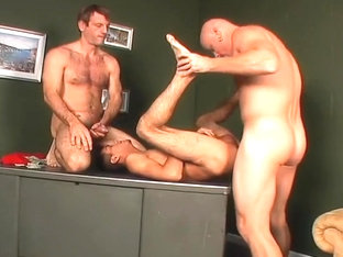 Twink Gets Double Poled For Cash