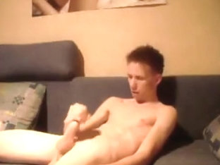 Young Hot Smooth Twink Strokes W Sweet Boy Balls
