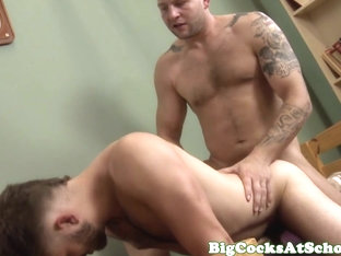Bigdick jocks suck and fuck session