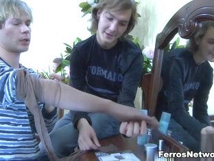 TryPantyhose Video: Paul and Silvester