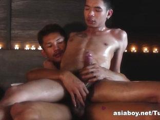 AsiaBoy Video: Mutual Masturbation