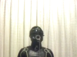 fullrubber slave electro chastity