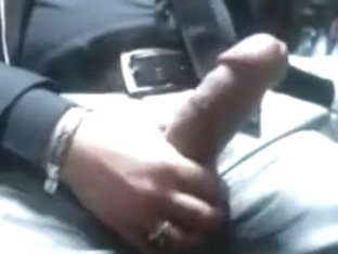 Daddy shows me his big cock on cam