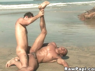 Hot Gay fuck by a Huge Latino Dick