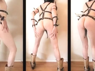 Whip Dance in Leather and Waders