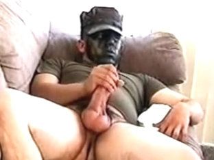 Army Boy and Bear 1